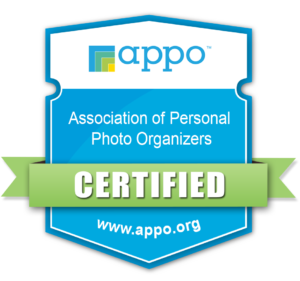 Calgary Photo Scanner Photo Organizer APPO Certification Badge